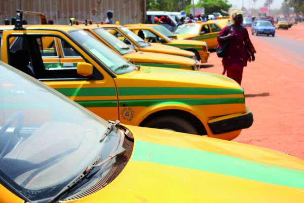 Gambian taxis