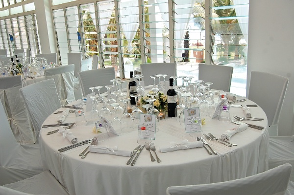 The Safran restaurant at Coco Ocean