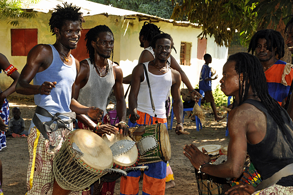 West African drumming group, Tamala