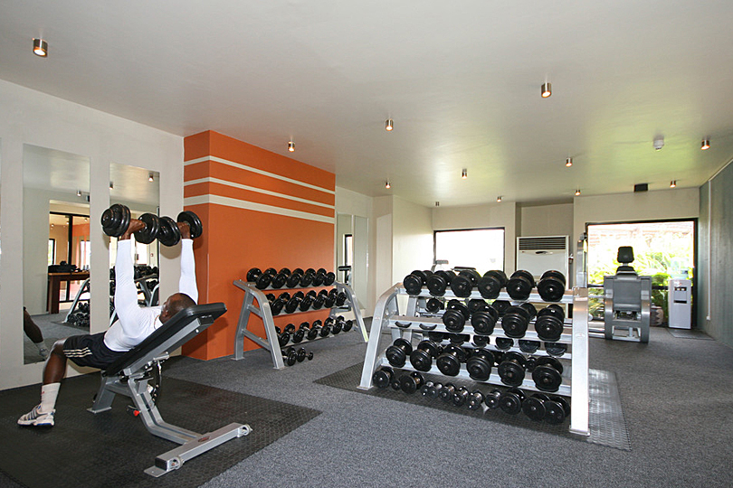 Luxury spa and gym in the Gambia
