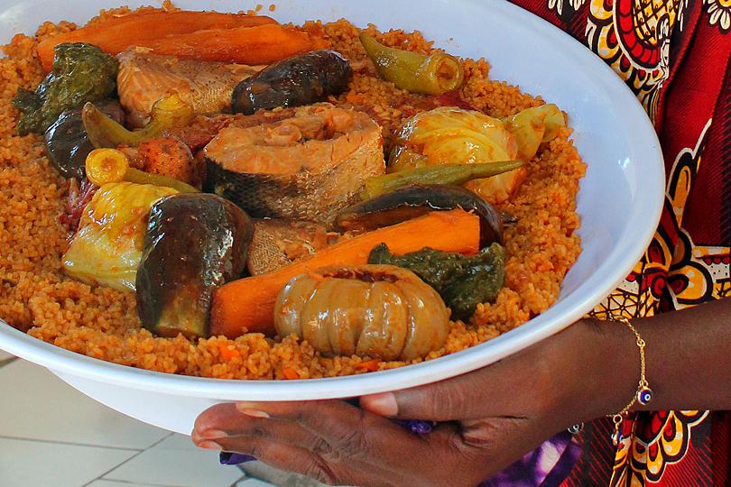 Fish Benechin in The Gambia