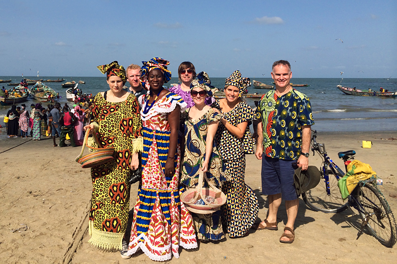 Things to do on a weekend in Gambia - Cooking with Ida and a visit to Tanji fish market