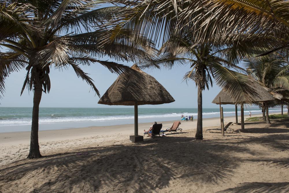 Brufut Beach, Gambia
