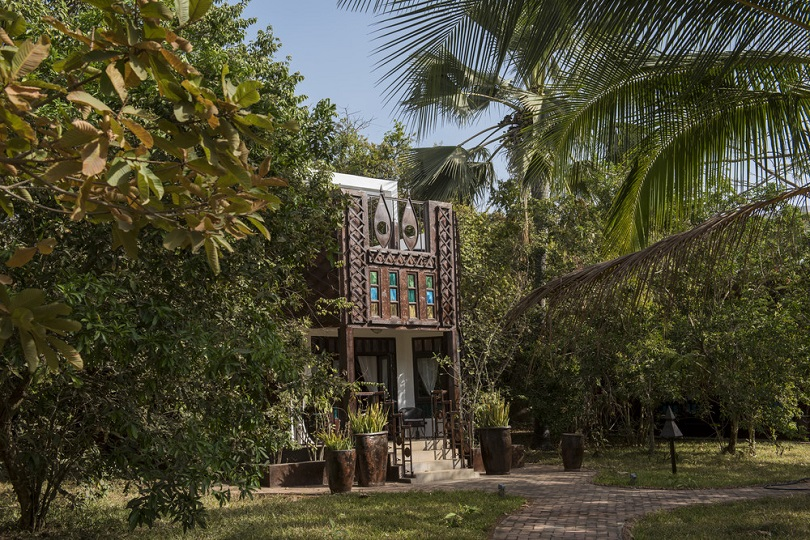 Jungle lodge at Mandina Lodges